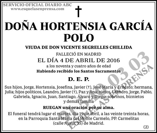 Hortensia García Polo